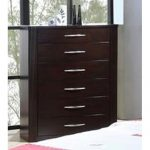 Contemporary Merlot Chest of Drawers – Millan