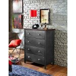 Contemporary Metal Chest of Drawers