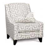 Contemporary Oatmeal & Cream Accent Chair – Renegade