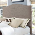 Contemporary Oatmeal Full-Queen Upholstered Headboard – Bellingham