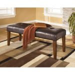 Contemporary Upholstered Dining Bench