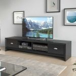 CorLiving Lakewood Extra Wide TV Bench