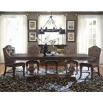 Cordovan Brown 5-Piece Dining Set – Lucca