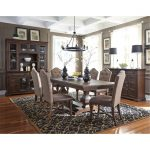 Cordovan Brown 7 Piece Dining Set – Lucca Collection