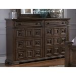Cordovan Brown Traditional Dresser – Lucca