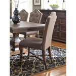 Cordovan Brown Tufted Dining Room Chair – Lucca