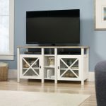 Cottage Road Soft White TV Stand