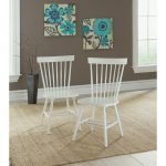 Cottage Road White Spindle Back Chair (Set of 2)
