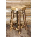 Counter Height Backless Barstool