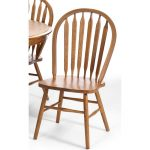 Country Oak Dining Room Chair – Classic Chestnut Collection
