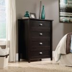 County Line Estate Black 4-Drawer Chest of Drawers