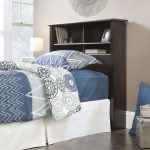 County Line Estate Black Twin Bookcase Headboard