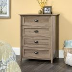 County Line Salt Oak 4-Drawer Chest of Drawers