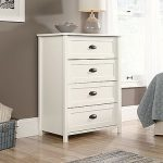 County Line Soft White 4-Drawer Chest of Drawers