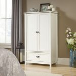 County Line Soft White Armoire