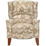 Cream & Tan High Leg Recliner – Jamie