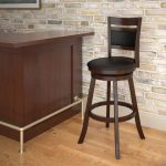 Cushion Back Bar Height Barstool