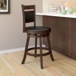 Cushion Back Counter Height Barstool