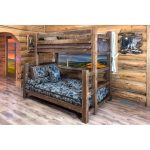 Dark Brown Twin-over-Full Bunk Bed – Homestead