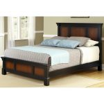 Dark Cherry Queen Size Bed – Aspen