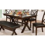Dark Cherry Traditional Dining Table – Westerly