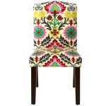 Desert Flower Arched Back Dining Chair