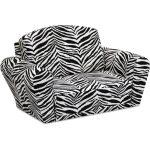 Designer Black/White Sleepover Sofa
