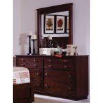 Diego Espresso Brown Classic Contemporary Dresser