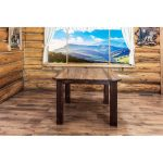 Dining Table – Rustic Homestead Square