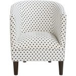 Dorothy White Tub Chair