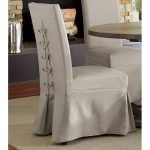 Dove Gray Parsons Dining Chair – Muses Collection