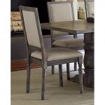Dove Gray Wood Frame Dining Chair – Muses
