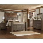 Driftwood Rustic Modern 6 Piece King Bedroom Set – Fairfax