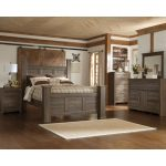 Driftwood Rustic Modern 6 Piece Queen Bedroom Set – Fairfax