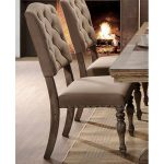 Driftwood Tufted Dining Chair – Metropolitan Collection