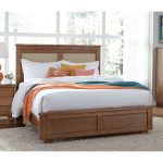 Dune Pine Casual Contemporary Queen Size Bed – Diego