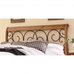 Dunhill Brown & Honey Oak Queen Headboard