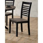 Ebony and Ash Contemporary Dining Chair – South Beach