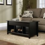 Edge Water Estate Black Lift Top Coffee Table