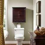 Espresso Bathroom Wall Cabinet – Lydia