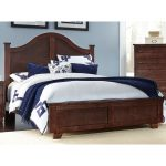 Espresso Brown Classic Contemporary Full Size Bed – Diego