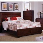 Espresso Brown Classic Contemporary Queen Size Bed – Diego