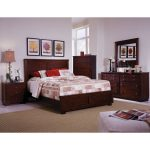 Espresso Brown Contemporary 6-Piece Full Bedroom Set – Diego