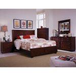 Espresso Brown Contemporary 6-Piece Queen Bedroom Set – Diego