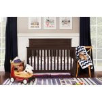 Espresso Classic 4-in-1 Convertible Crib – Autumn