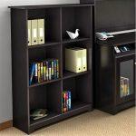 Espresso Oak 6-cube Bookcase – Cabot