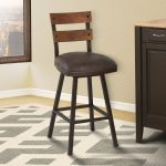 Espresso Swivel Counter Stool – Saugus Collection