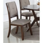 Espresso Upholstered Dining Chair – Barney Collection