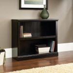 Estate Black 2-Shelf Bookcase