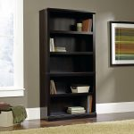 Estate Black 5-Shelf Bookcase